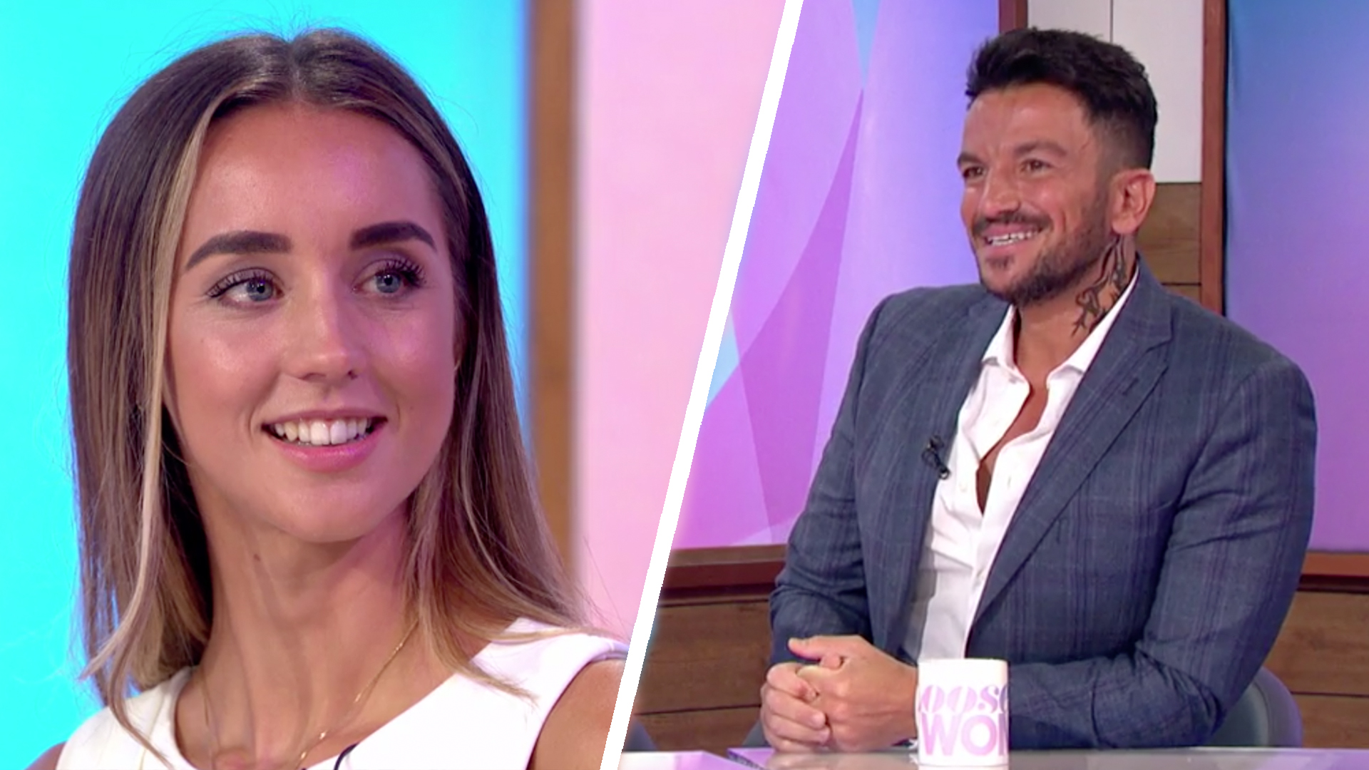 Peter Andre Reveals The Moment He Knew He Was Falling For Wife Emily Loose Women