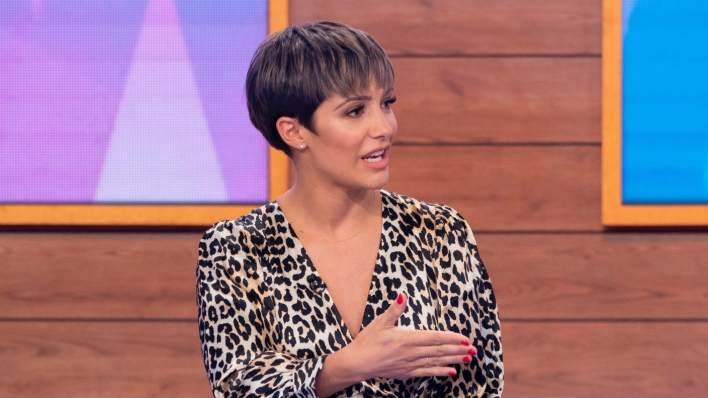 Frankie Bridge on Loose Women