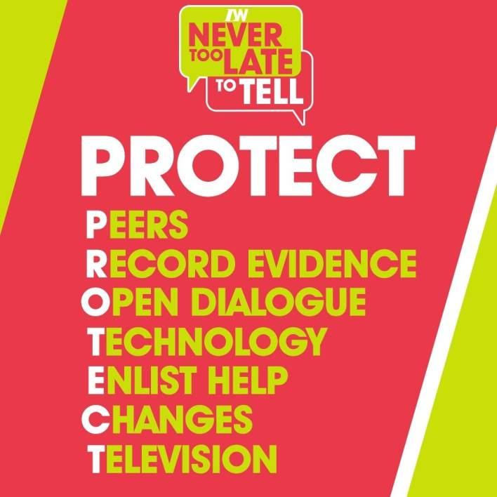 PROTECT! Never Too Late To Tell - child grooming