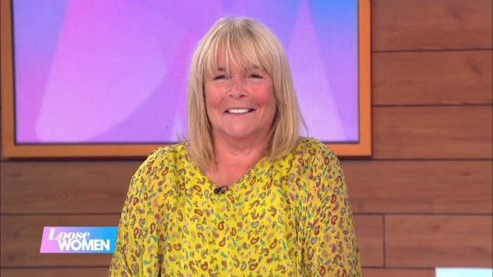 Linda Robson's Loose Women outfit 13th July 2020