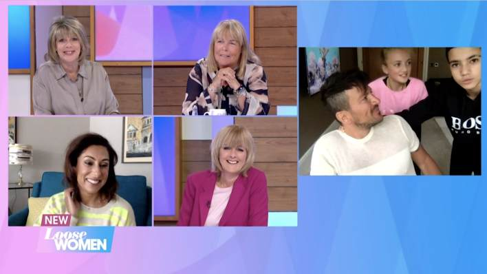 Peter Andre's children Princess and Junior rate their dad's homeschooling skills