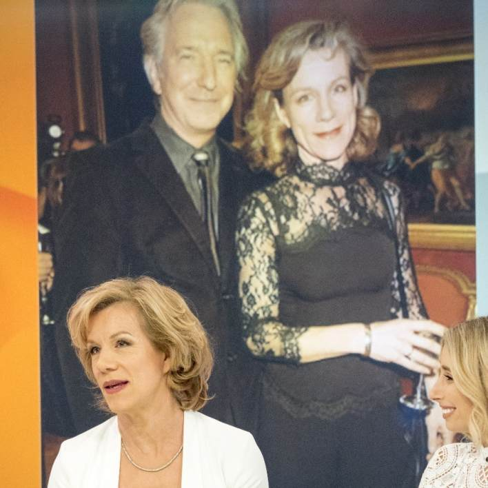 Juliet Stevenson paid tribute to her Truly Madly Deeply co-star Alan Rickman