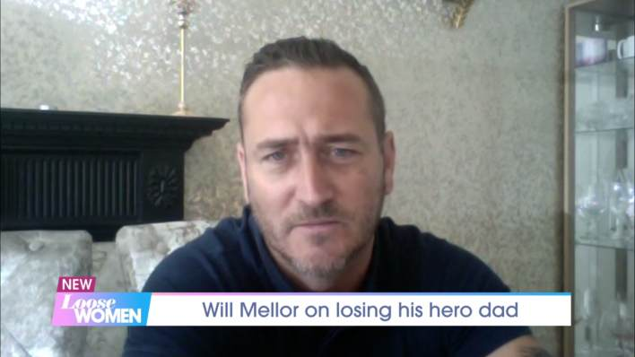 Will Mellor pays tribute to his hero dad on ITV's Loose Women