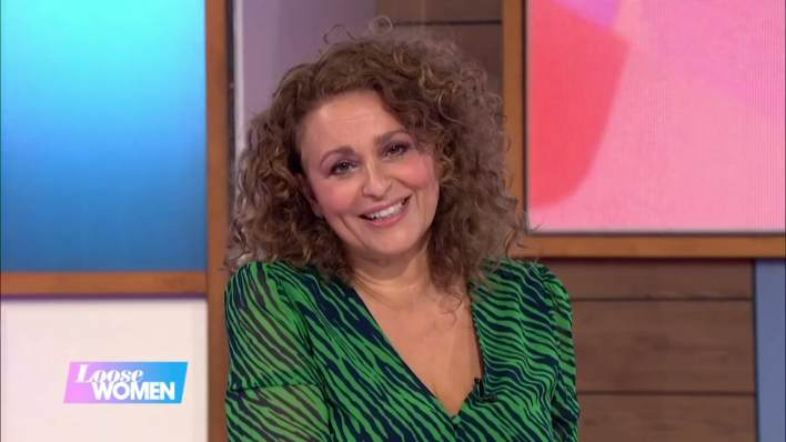 Where is Nadia Sawalha's Loose Women dress from? 10th July 2020