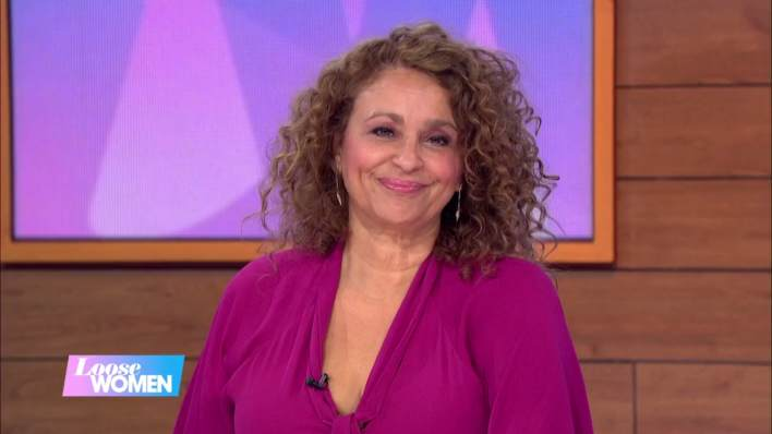 Where is Nadia's Loose Women dress from?
