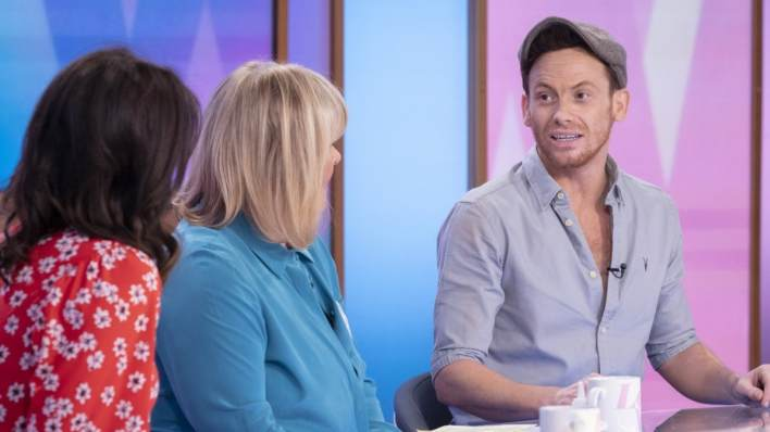 Dancing on Ice winner Joe Swash talks about his victory with the Loose Women