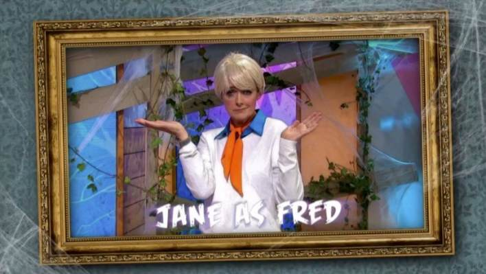 Jane Moore as Fred from Scooby Doo