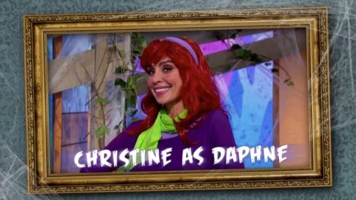 Christine Lampard Daphne Scooby Doo