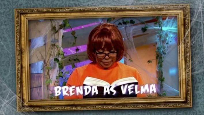 Brenda Edwards as Velma from Scooby Doo
