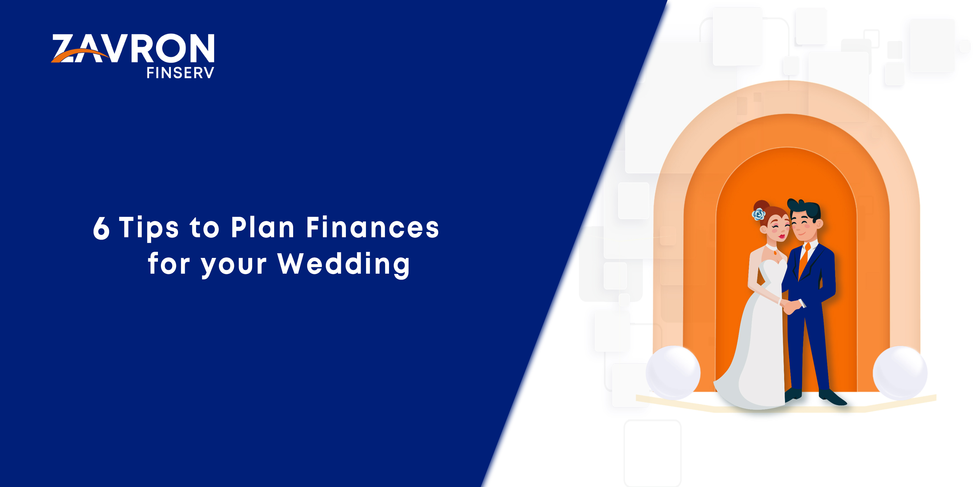 6 Tips to Plan Finances for your Wedding