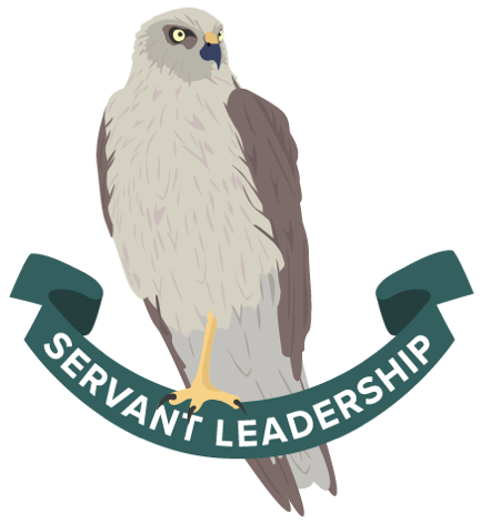 Kāhu icon for the Boost value of Servant Leadership.