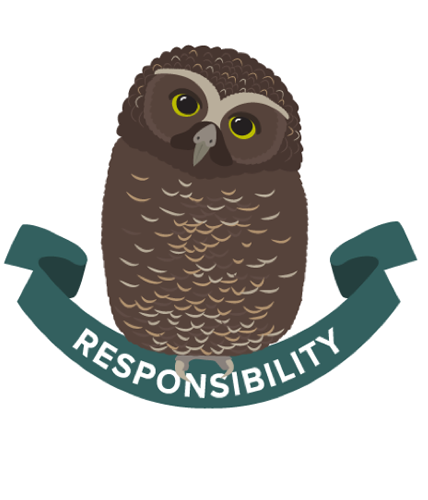 Ruru icon for the Boost value of Responsibility.