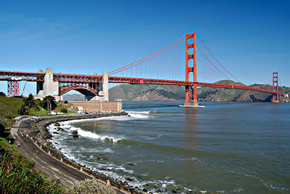 Golden Gate Bridge and Fort Point