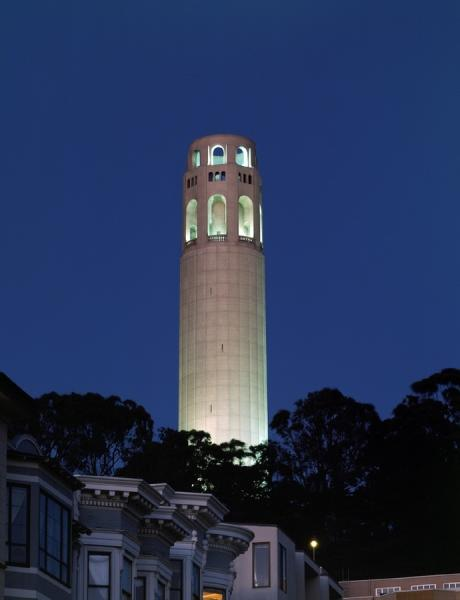 coit tower lucky tuk tuk night tour