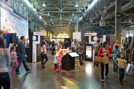 Exploratorium's home at Pier 15