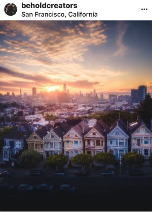 Painted Ladies at Sunrise by beholdcreators