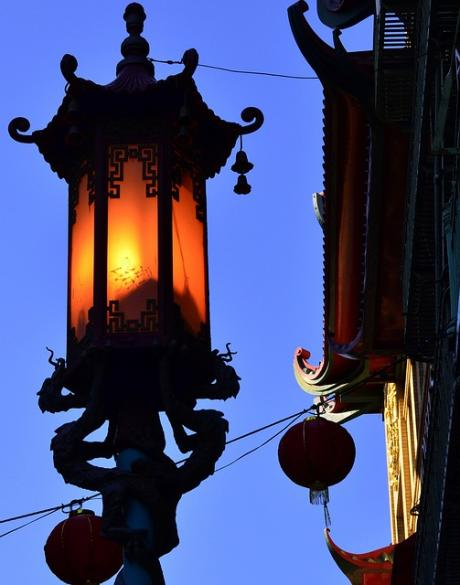san francisco chinatown lantern
