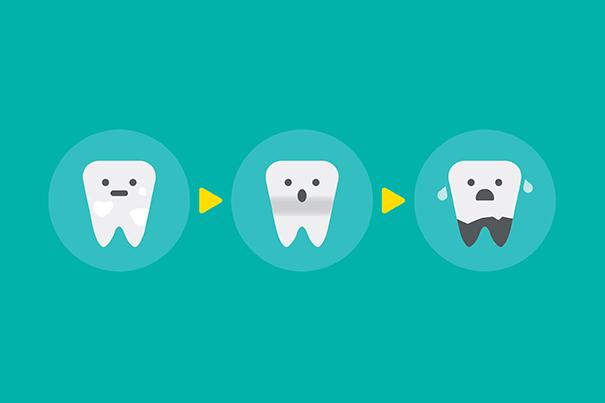 Cómo mantener los dientes del bebé saludables y sin caries