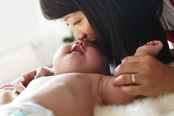 Olor de la orina del bebé