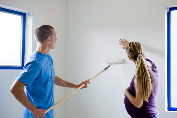 El olor a pintura le hace daño a los niños