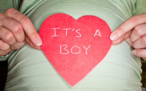 Ideas para revelar el sexo del bebé: Niño