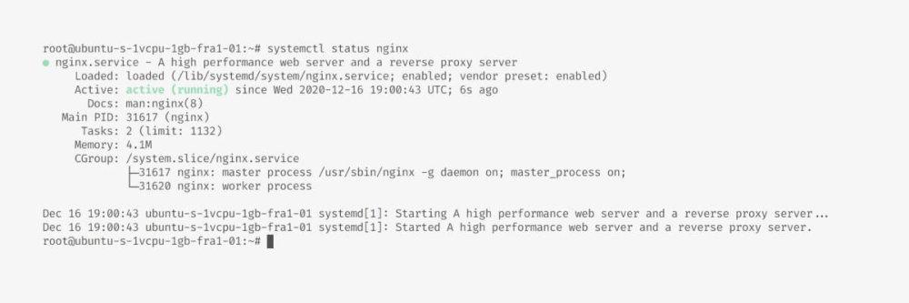 nginx Set Up a Digital Ocean Server for a Node.js With PostgreSQL in 15 Minutes or Less