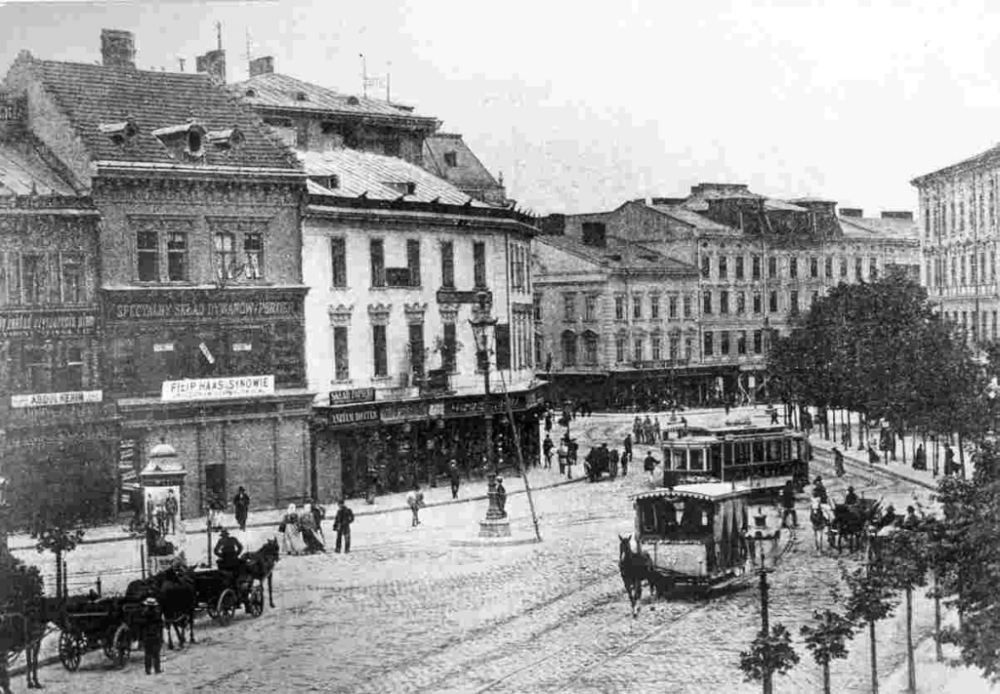 Halytska Square in Lviv