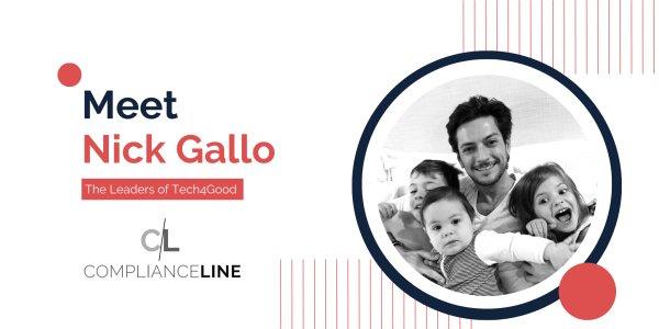 The Leaders of Tech4Good: Meet Nick Gallo