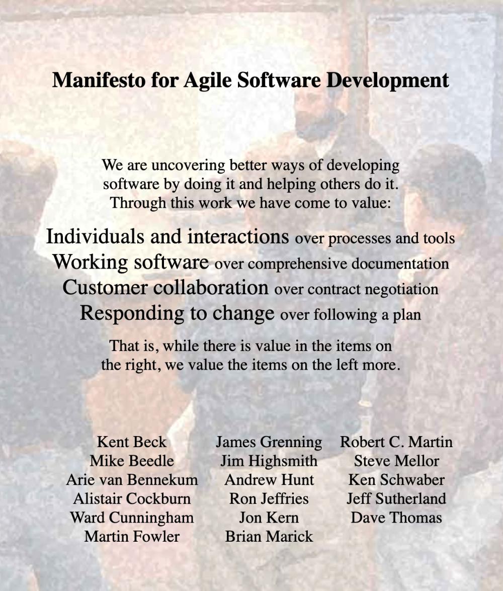 The Agile Manifesto. Retrieved from agilemanifesto.org
