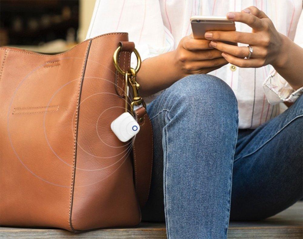 Mobile app in use