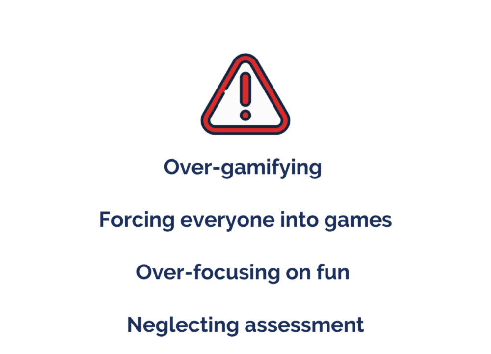 gamification risks