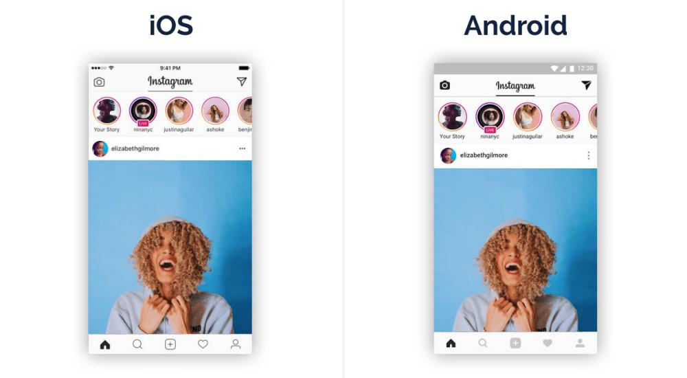 Instagram cross-platform