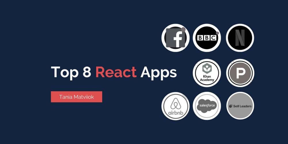 Top 8 React Apps