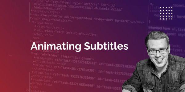 KeenEthics Experience-Sharing: Animating Subtitles