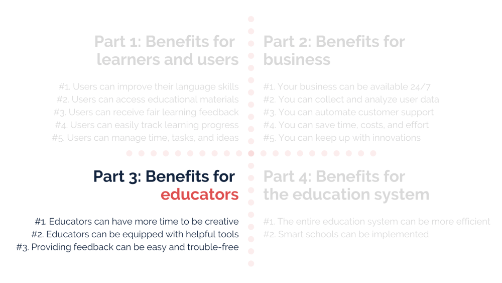 AI benefits for educators