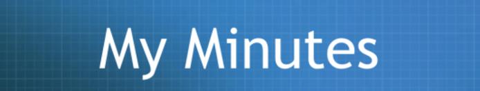 My Minutes Logo