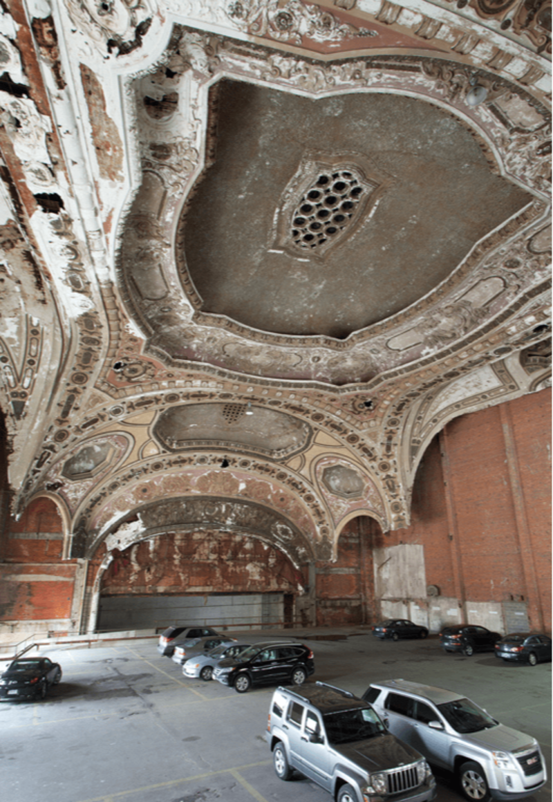 The Michigan Theatre today. Retrieved from the article of Matthew Lambros The Michigan Theatre