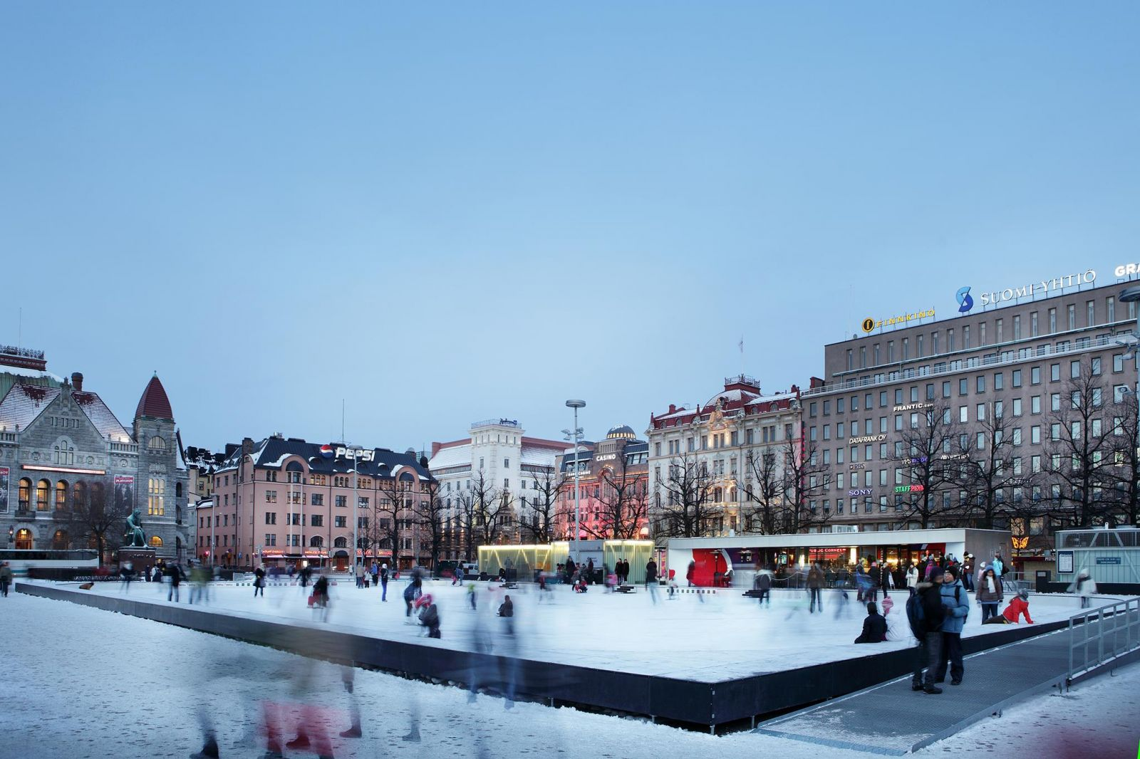 Helsinki in Winter