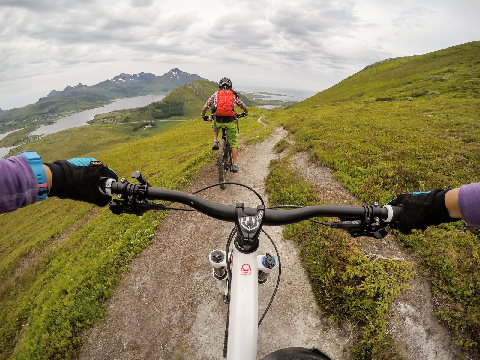 large-mountain biking Vesterålen -Kristin Folsland Olsen Norway