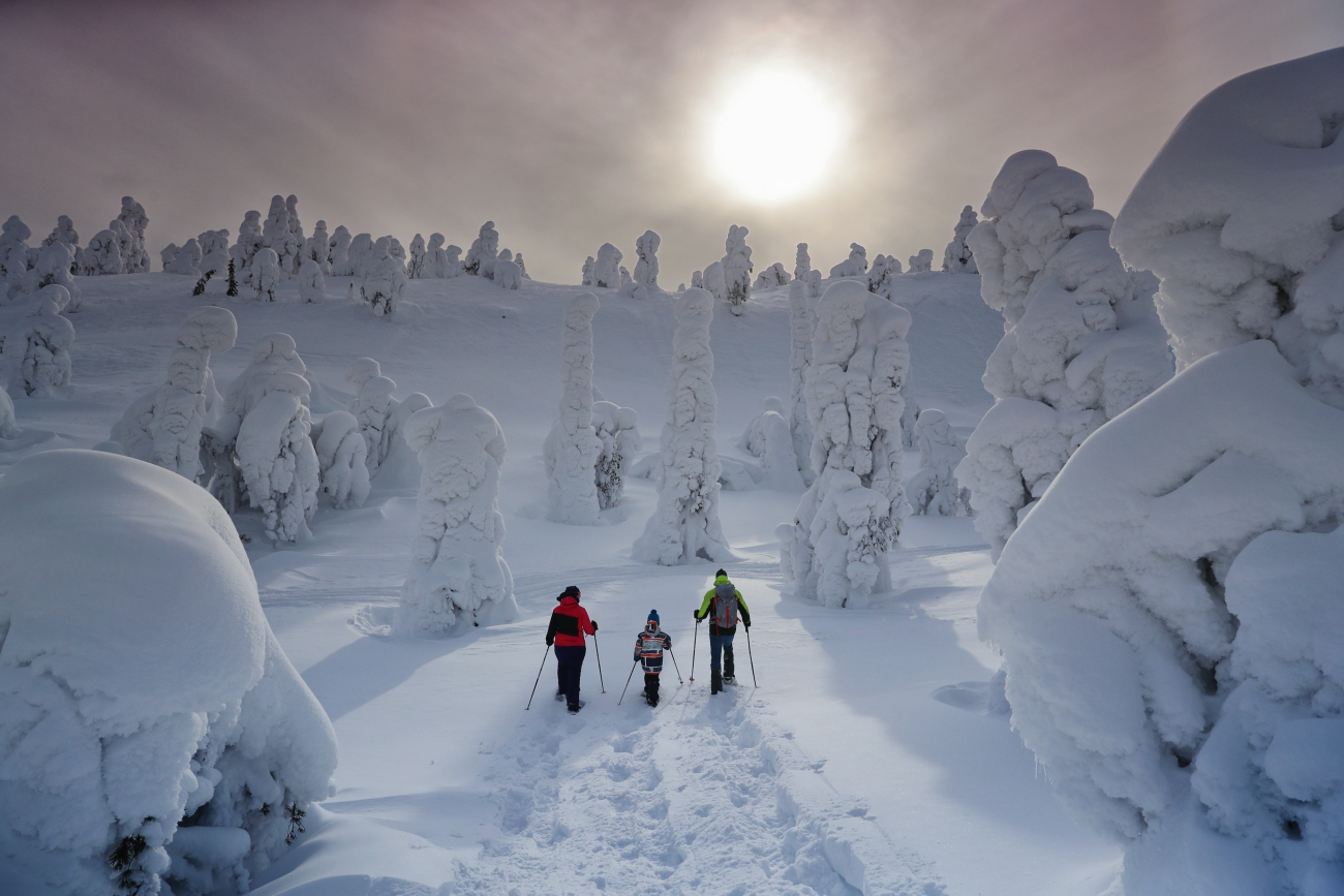 Family adventures - Photo by Harri Tarvainen, Visit Finland