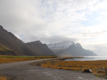 iceland Driving and Picnic