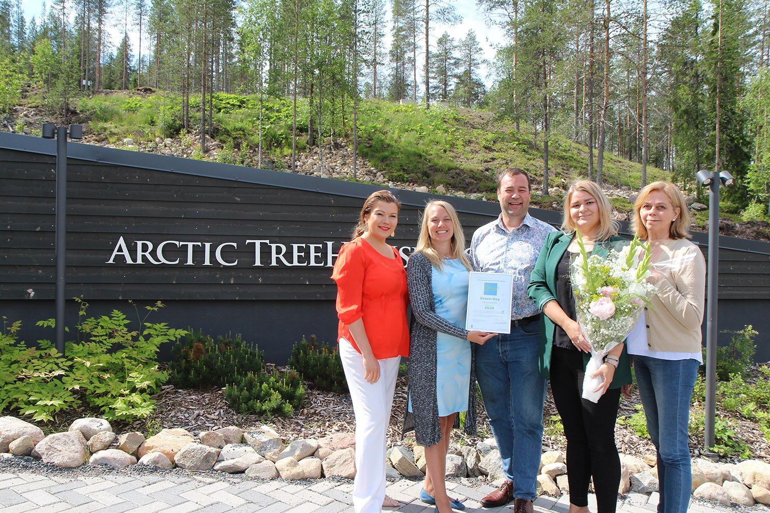 Arctic Treehouse Hotel Sustainable Award