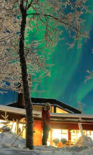 Northern Lights Lodge, Sweden