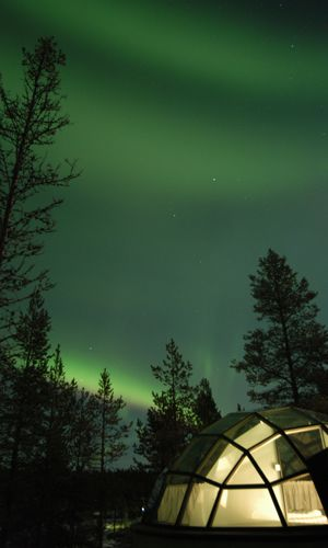 Igloo Hotel Northern Lights >> Glass Igloos For Northern Lights 50 Degrees North