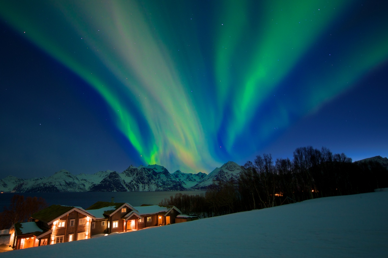New Year's at Lyngen Lodge