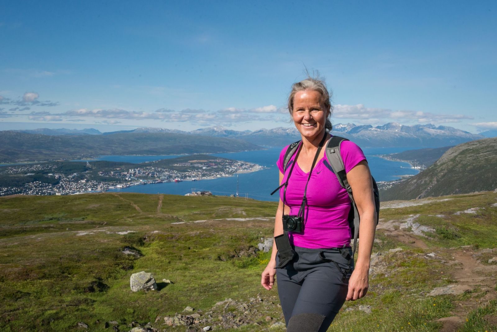 Hiking in Norway on Hurtigruten