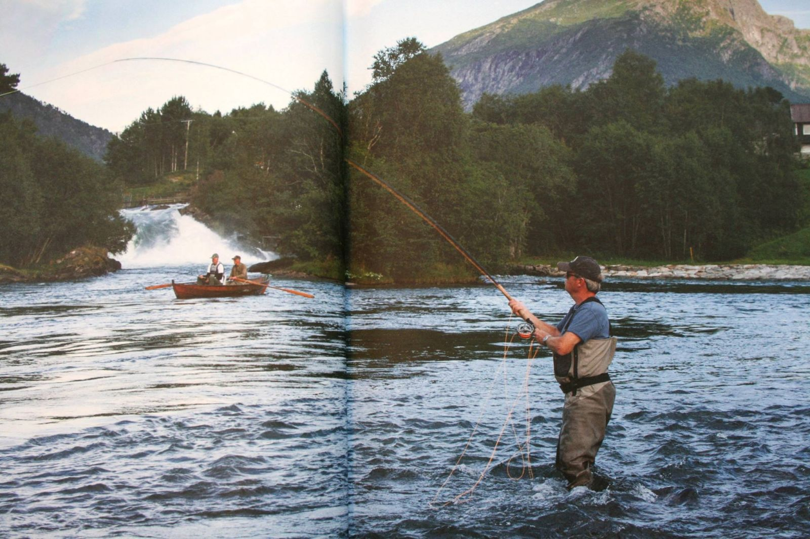 Fly Fishing in Gloppen