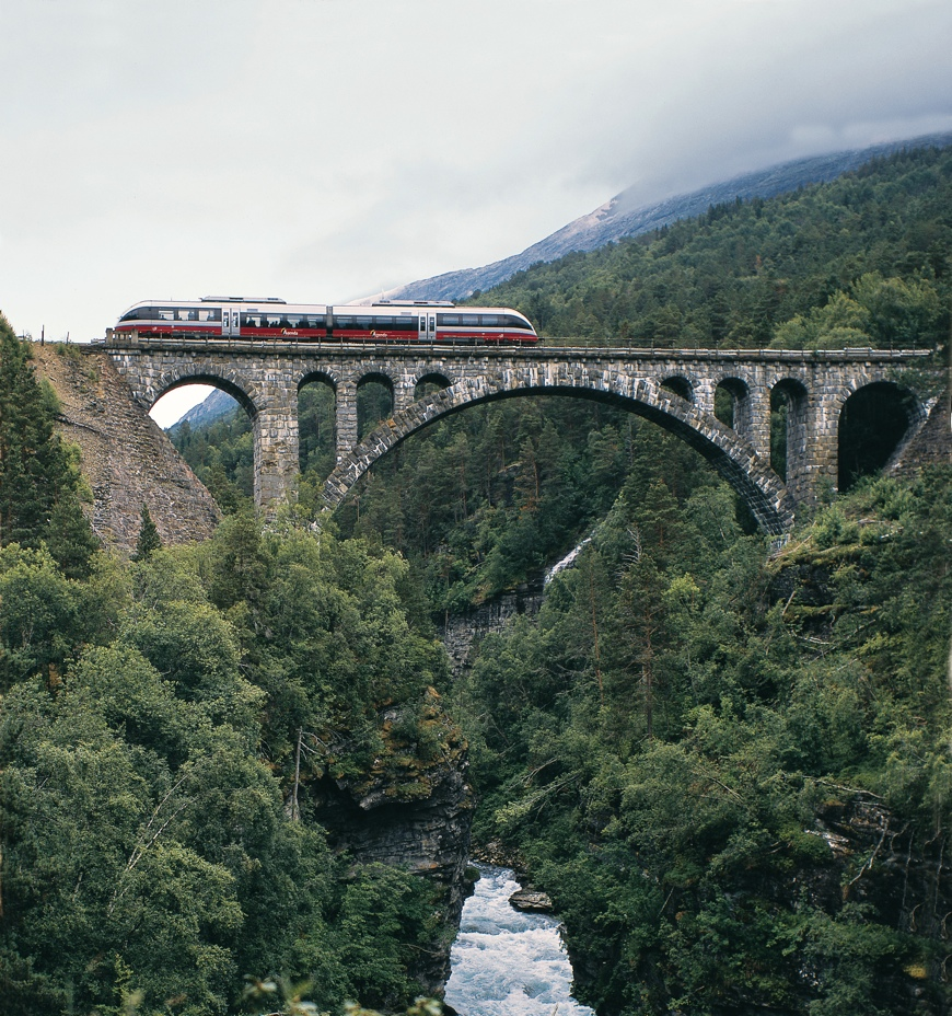 Norway train journeys