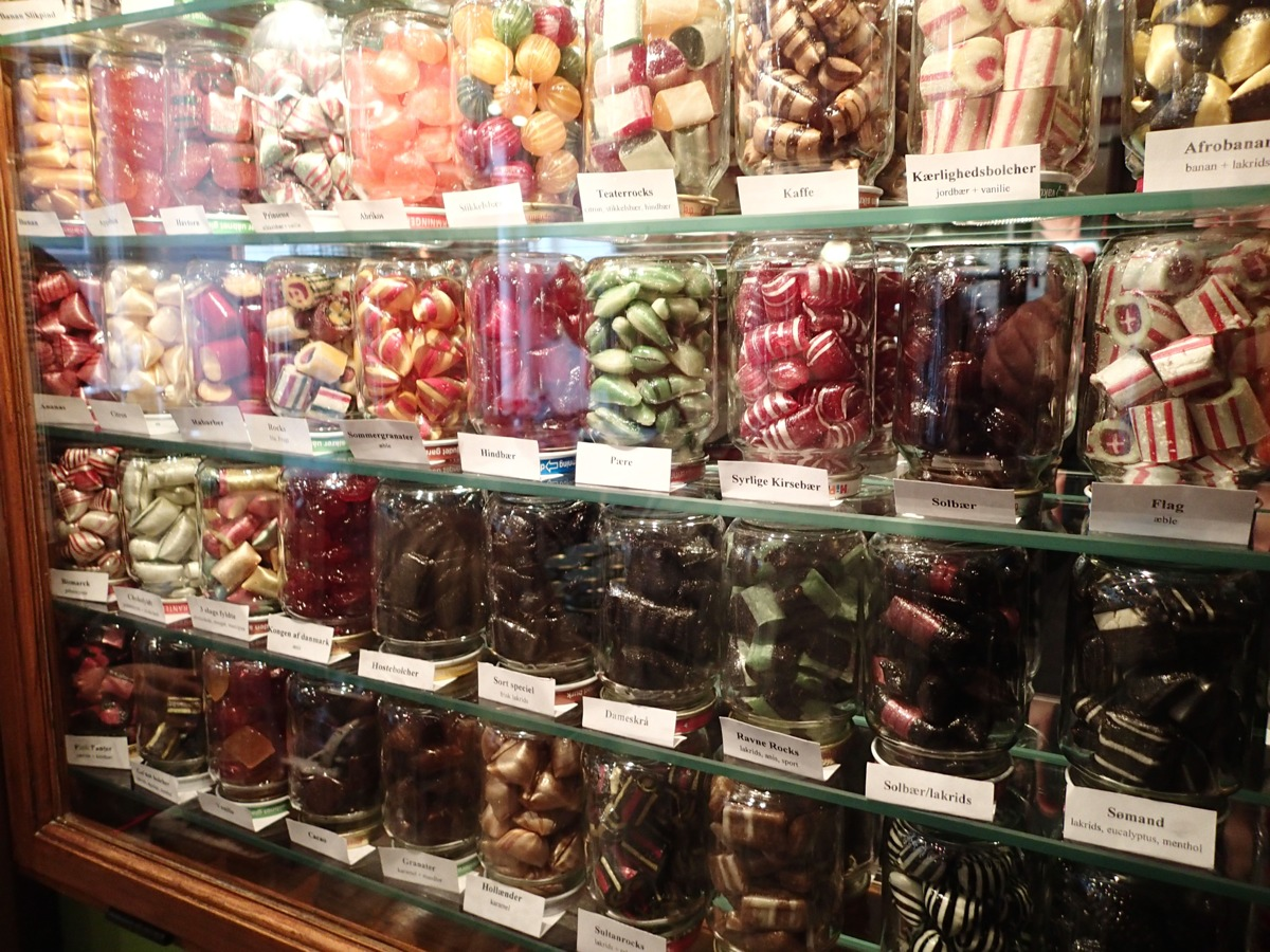 Candy Shop in Copenhagen