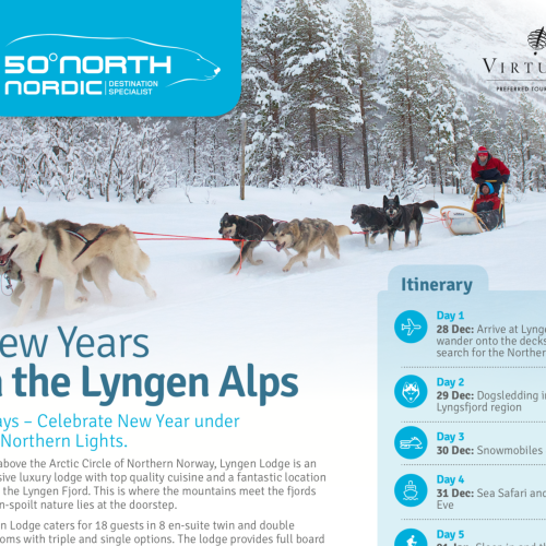 Lyngen Lodge New Year's Eve